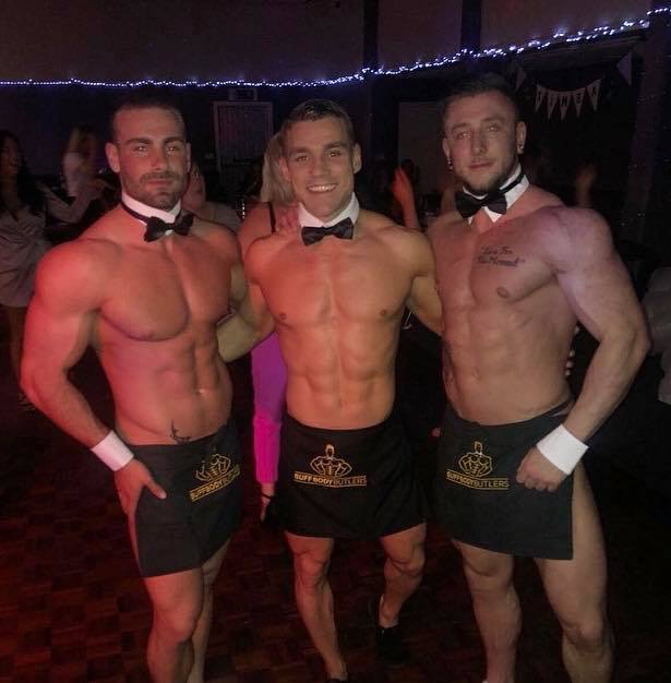 Butlers in the buff ladies nights London - hunks in trunks